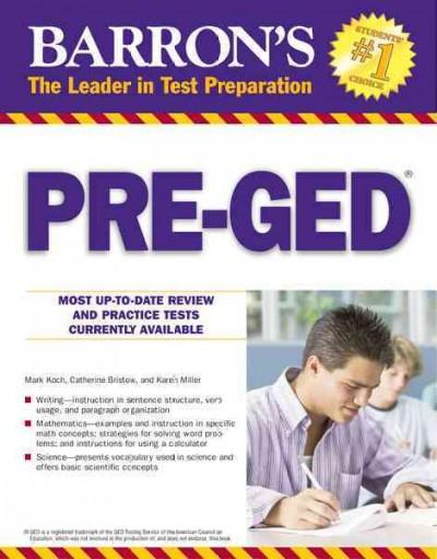 Barron's Pre-GED (Paperback)