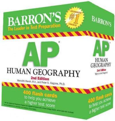 Barron's AP Human Geography (Cards)