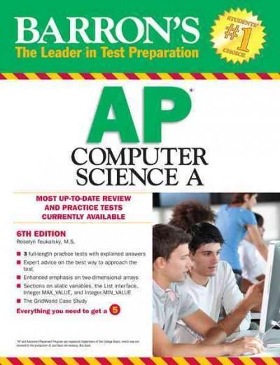 Barron's Ap Computer Science A (Paperback)