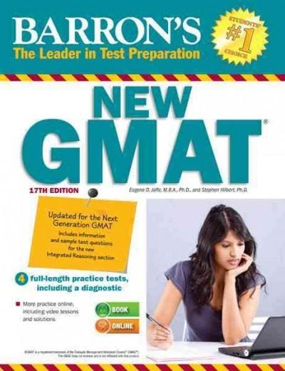 Barron's New GMAT (Paperback)