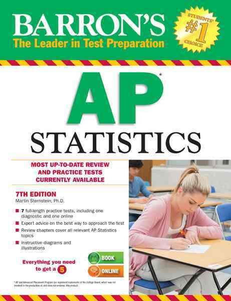 Barron's AP Statistics (Paperback)