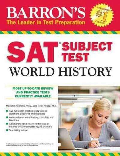 Barron's SAT Subject Test World History (Paperback)