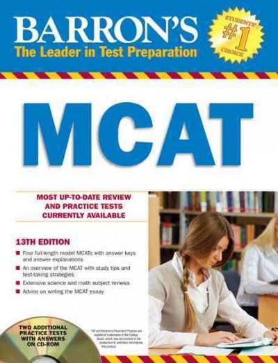 Barron's MCAT: Medical College Admission Test