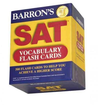 Barron's SAT Vocabulary (Cards)