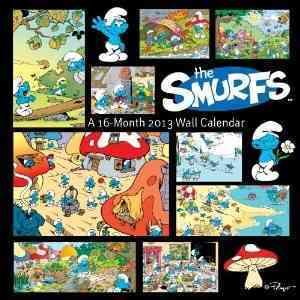 The Smurfs 2013 Calendar