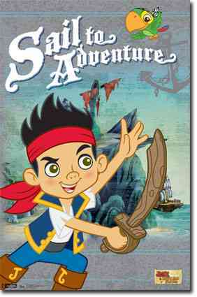 Jake and the Never Land Pirates (Poster)
