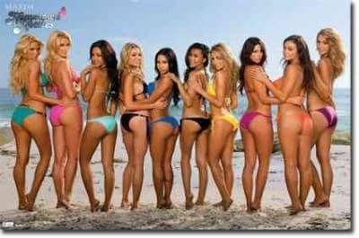 Maxim Beach Bikinis (Poster)