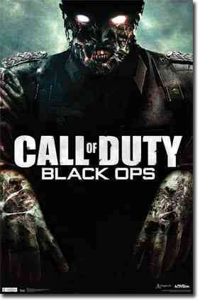 Cod Black Ops: Zombie (Poster)