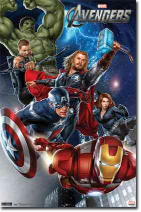 Avengers: Group (Poster)