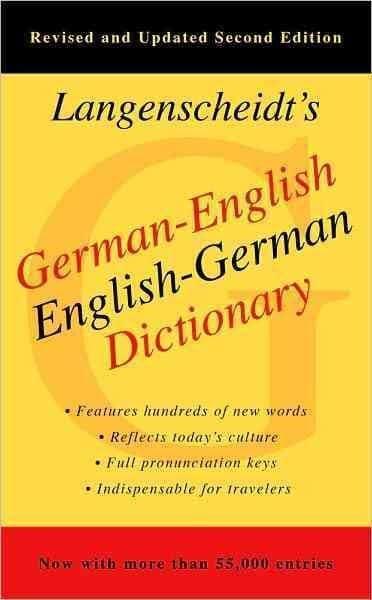 Langenscheidt's German-English English-German Dictionary (Paperback)