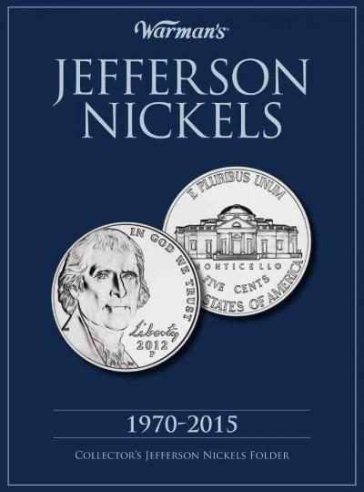 Jefferson Nickels 1970-2015 Collector's Folder (Hardcover)