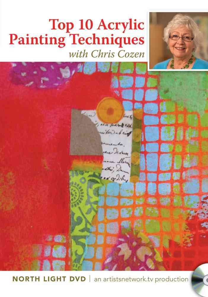 Simple Solutions for Acrylic Mixed Media Painting (DVD video)