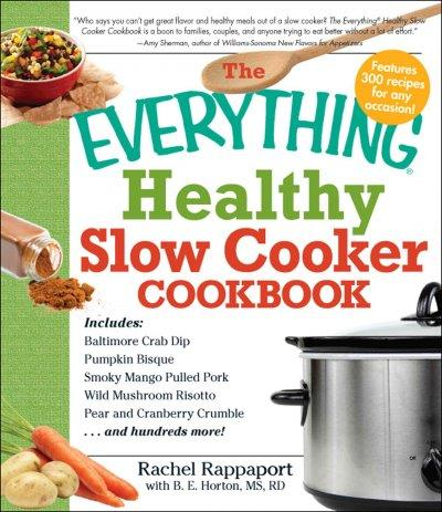 The Everything Healthy Slow Cooker Cookbook (Paperback) - Thumbnail 0