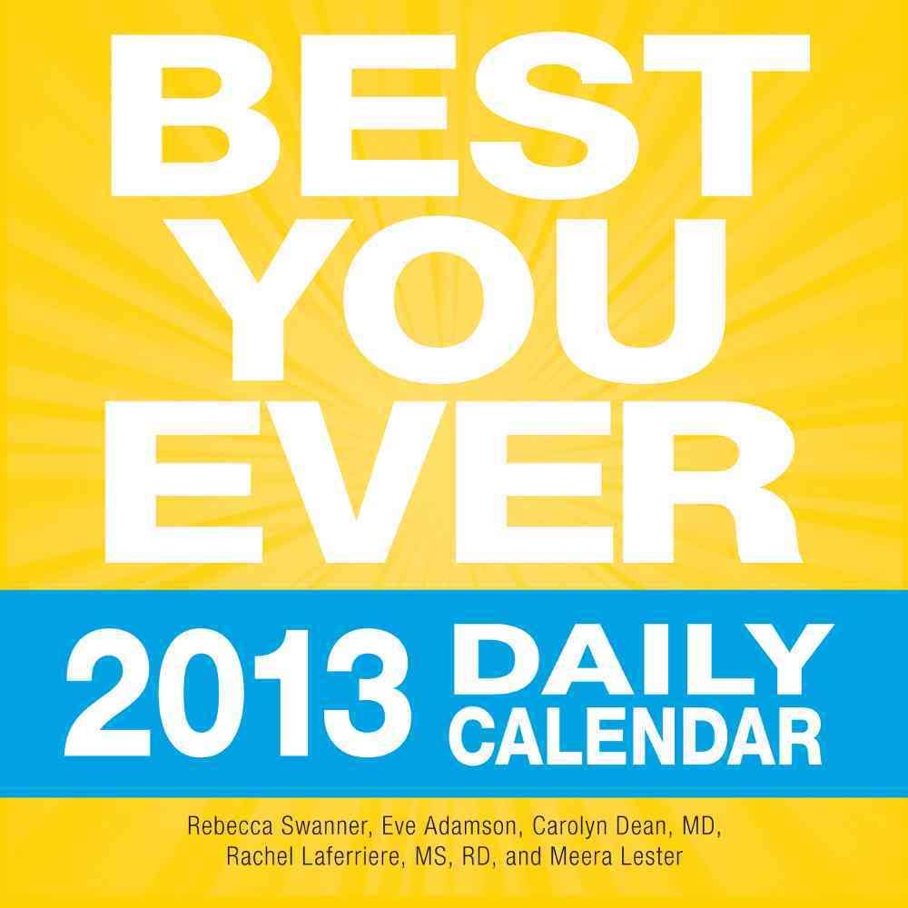 Best You Ever 2013 Daily Calendar