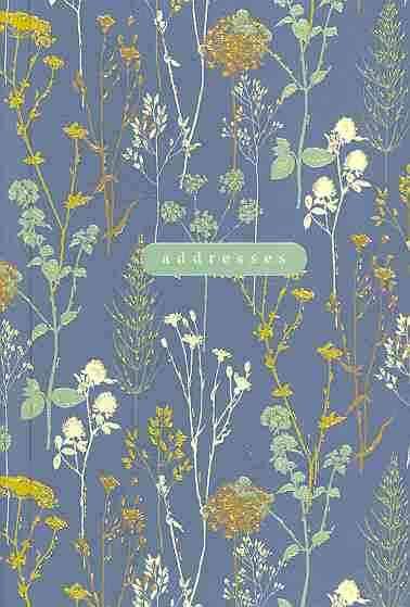 Twilight Garden Address Book (Spiral bound)