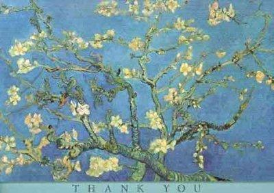 Almond Blossom Thank You Notes (Cards)