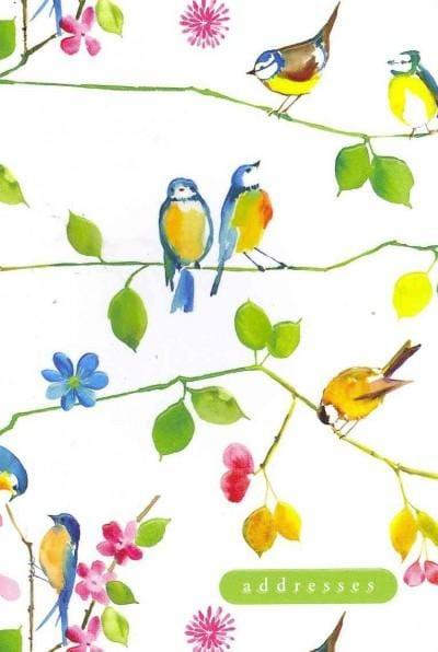 Watercolor Birds Address Book (Address book)