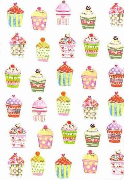 Cupcakes Journal (Notebook / blank book)