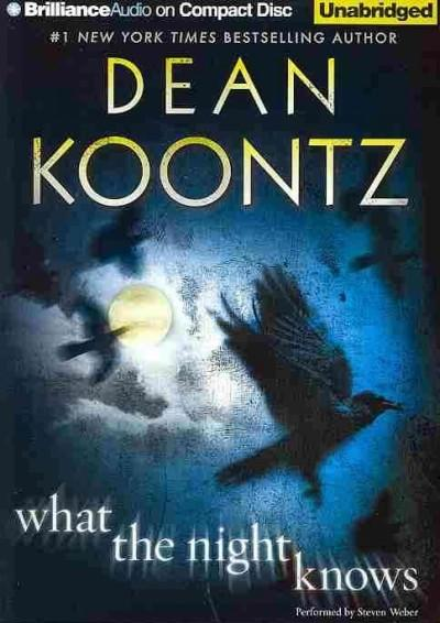 What the Night Knows (CD-Audio)