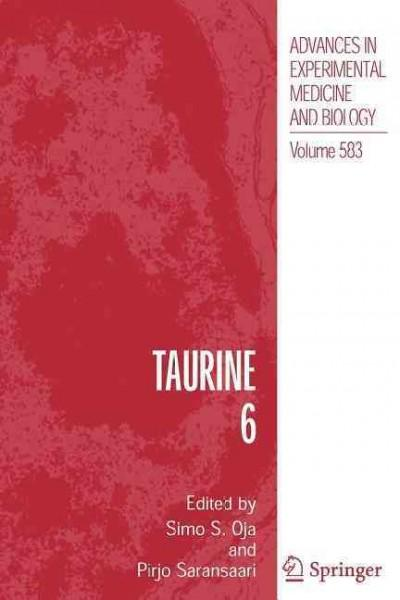 Taurine 6 (Paperback)
