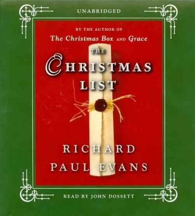 The Christmas List (CD-Audio)