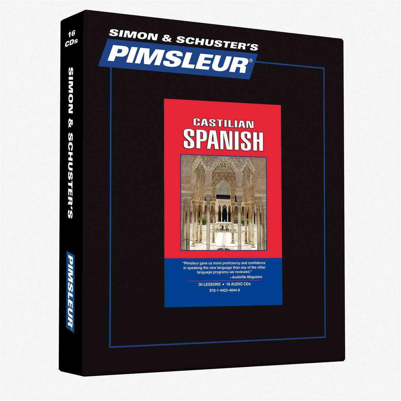 Pimsleur Castilian Spanish: 30 Lessons