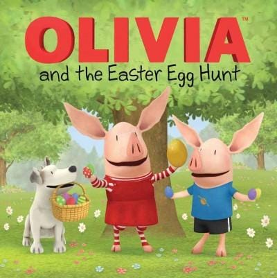 Olivia and the Easter Egg Hunt (Paperback) - Thumbnail 0