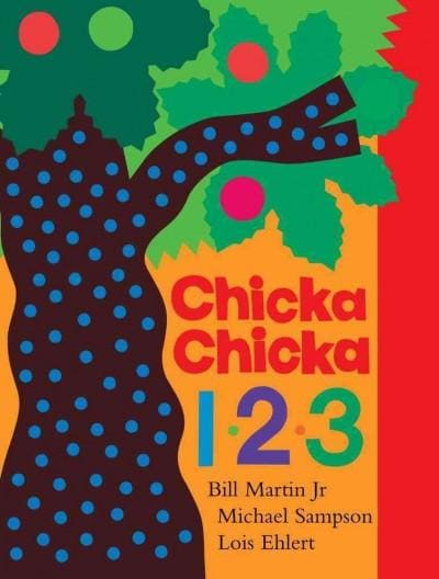 Chicka Chicka 1, 2, 3: Lap Edition (Board book)