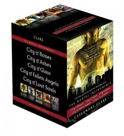 The Mortal Instruments: City of Bones / City of Ashes / City of Glass / City of Fallen Angels / City of Lost Souls (Hardcover) - Thumbnail 0