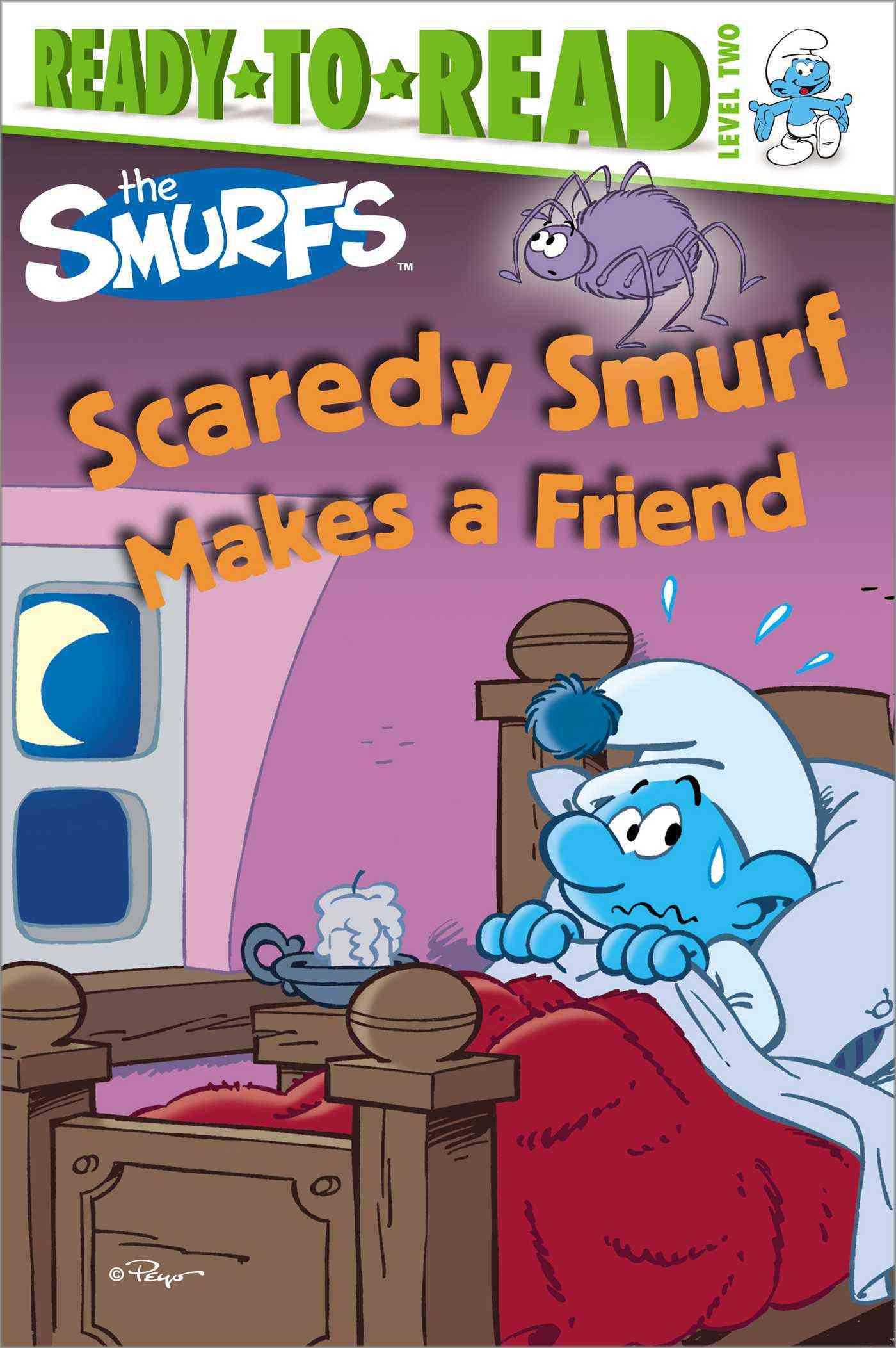 Scaredy Smurf Makes a Friend (Paperback)