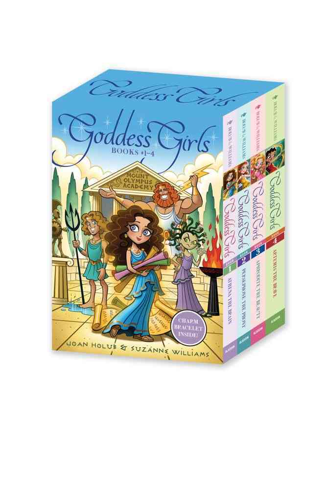 Goddess Girls: Athena the Brave / Persephone the Phony / Aphrodite the Beauty / Artemis the Brave (Paperback)