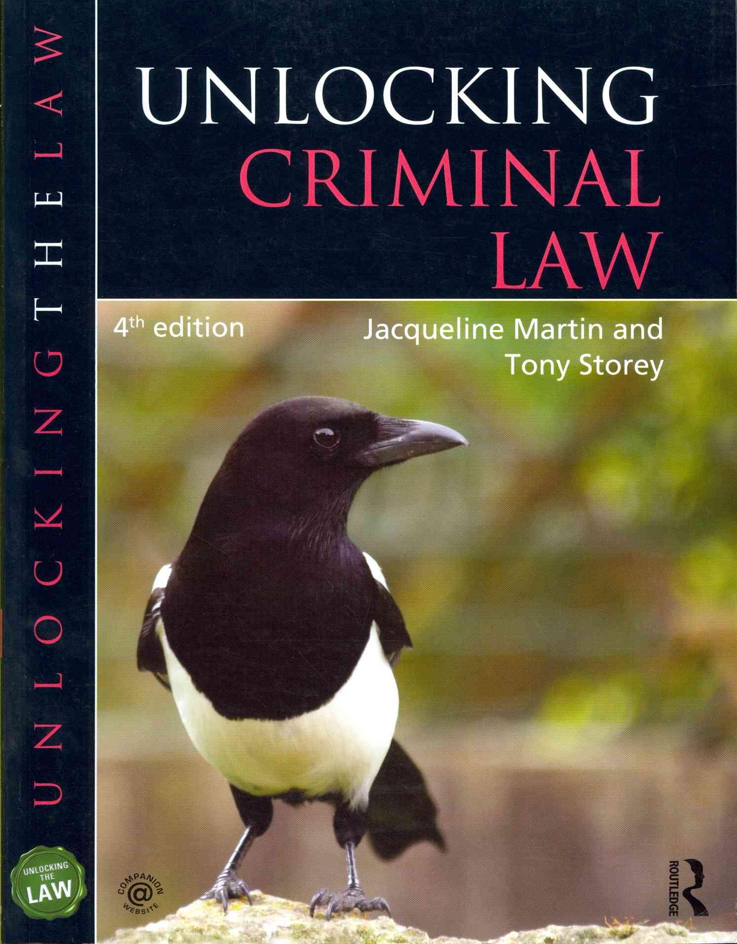 Unlocking Criminal Law (Paperback)