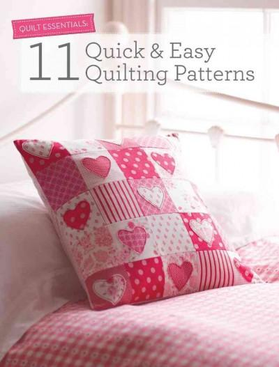 11 Quick & Easy Quilting Patterns (Paperback)