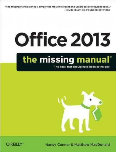 Office 2013: The Missing Manual (Paperback) - Thumbnail 0