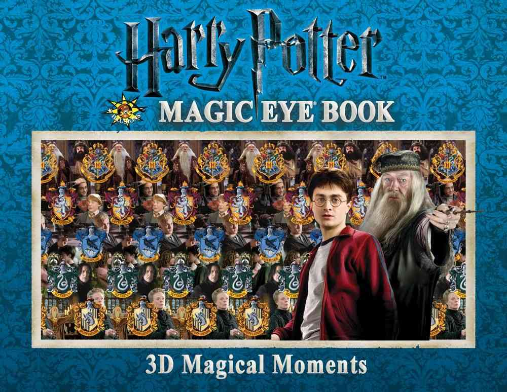 Harry Potter Magic Eye Book: 3D Magical Moments (Hardcover)
