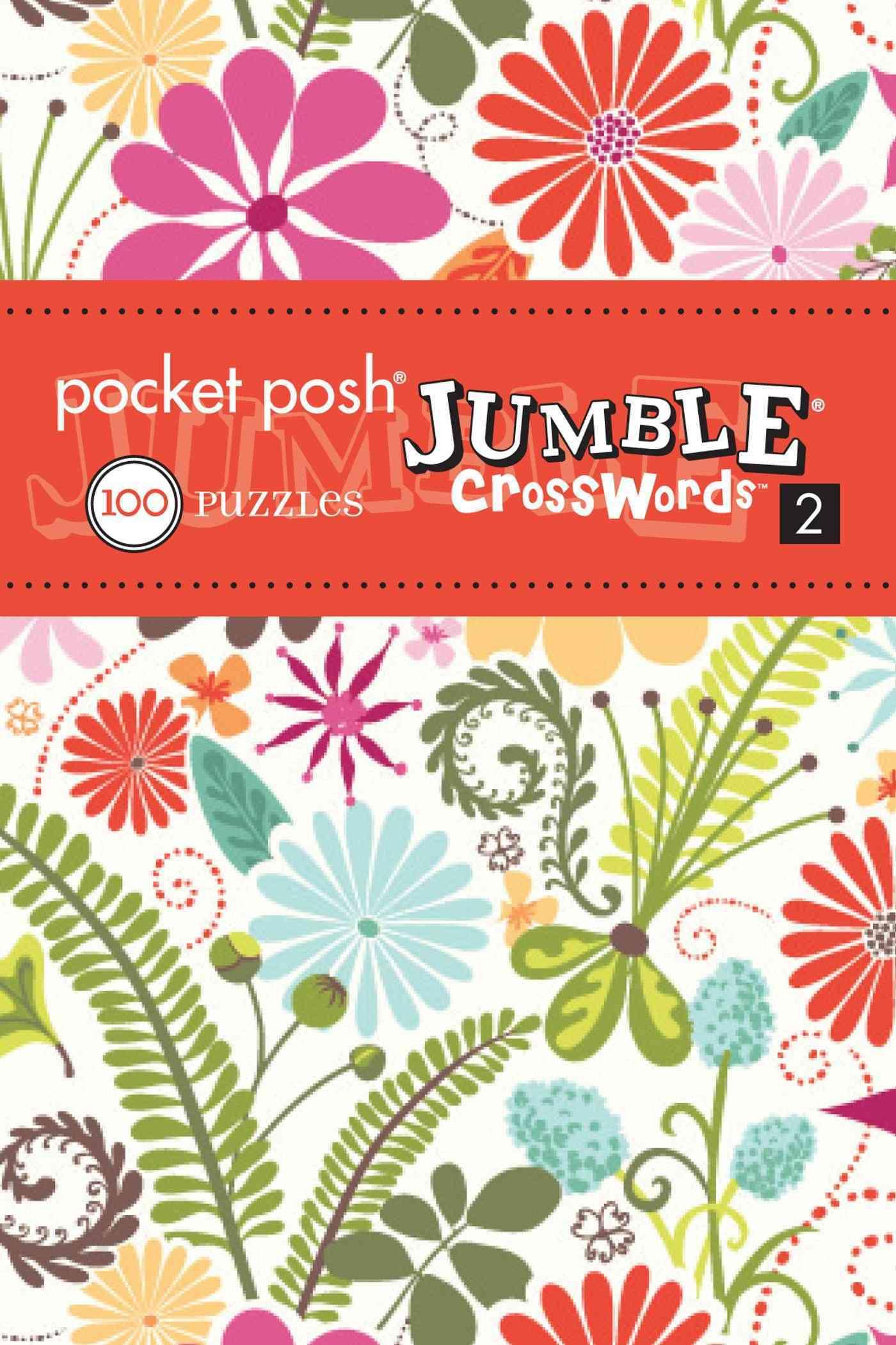 Pocket Posh Jumble Crosswords 2: 100 Puzzles (Paperback)