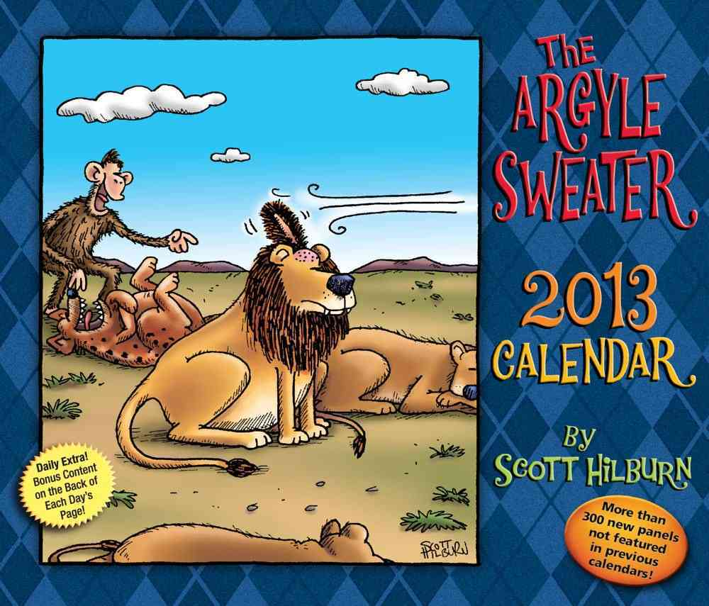 The Argyle Sweater 2013 Calendar