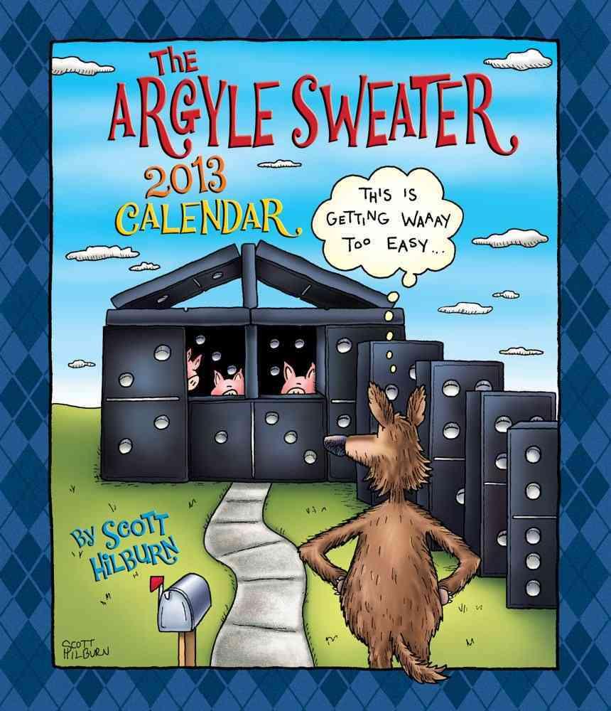 The Argyle Sweater 2013 Calendar