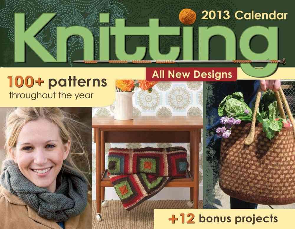 Knitting 2013 Calendar (Calendar)
