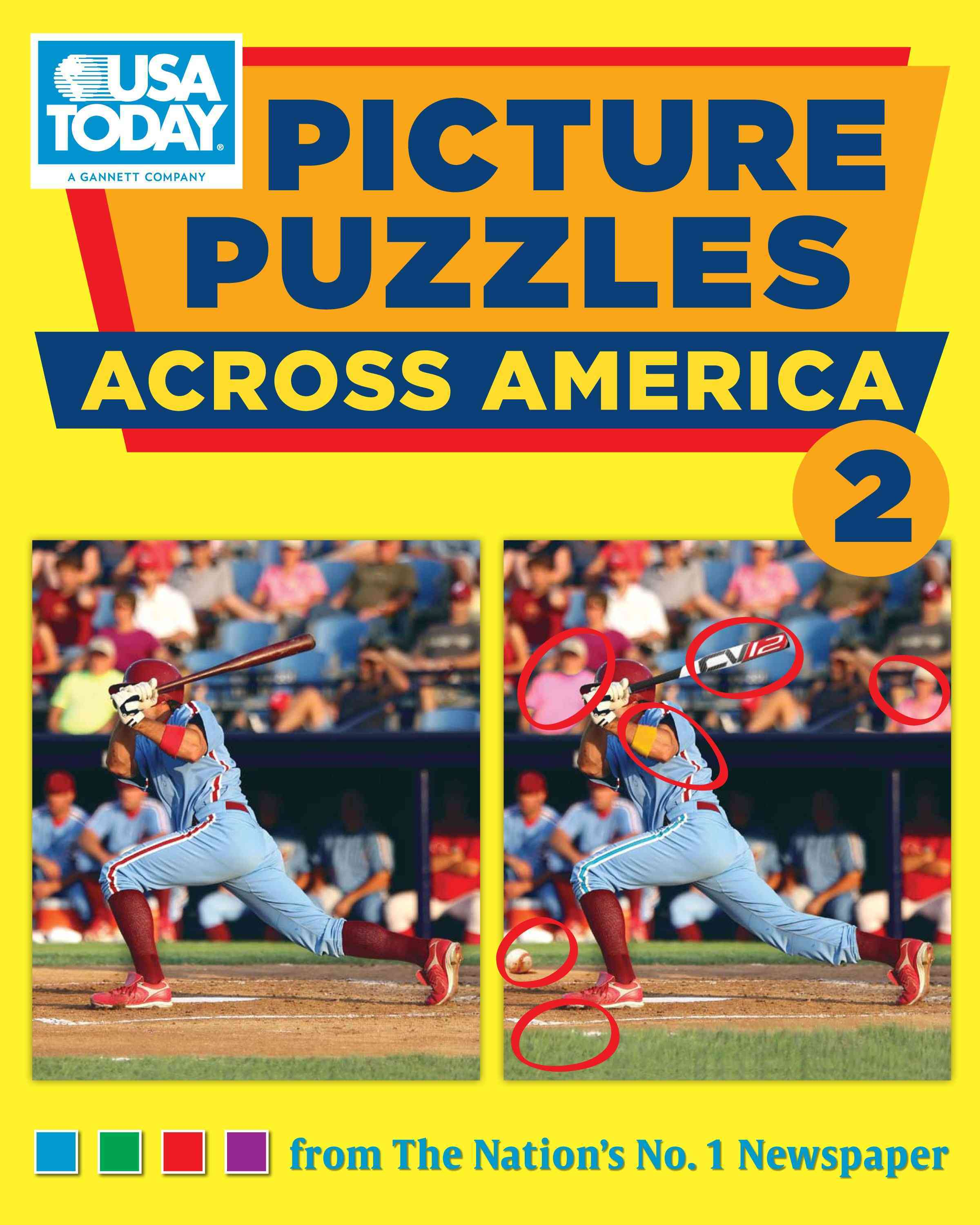 USA Today Picture Puzzles Across America 2 (Paperback)