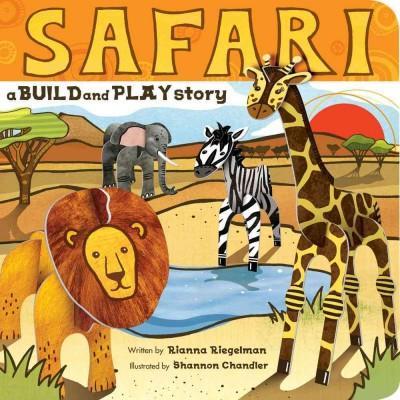 Safari: A Build & Play Story (Board book)