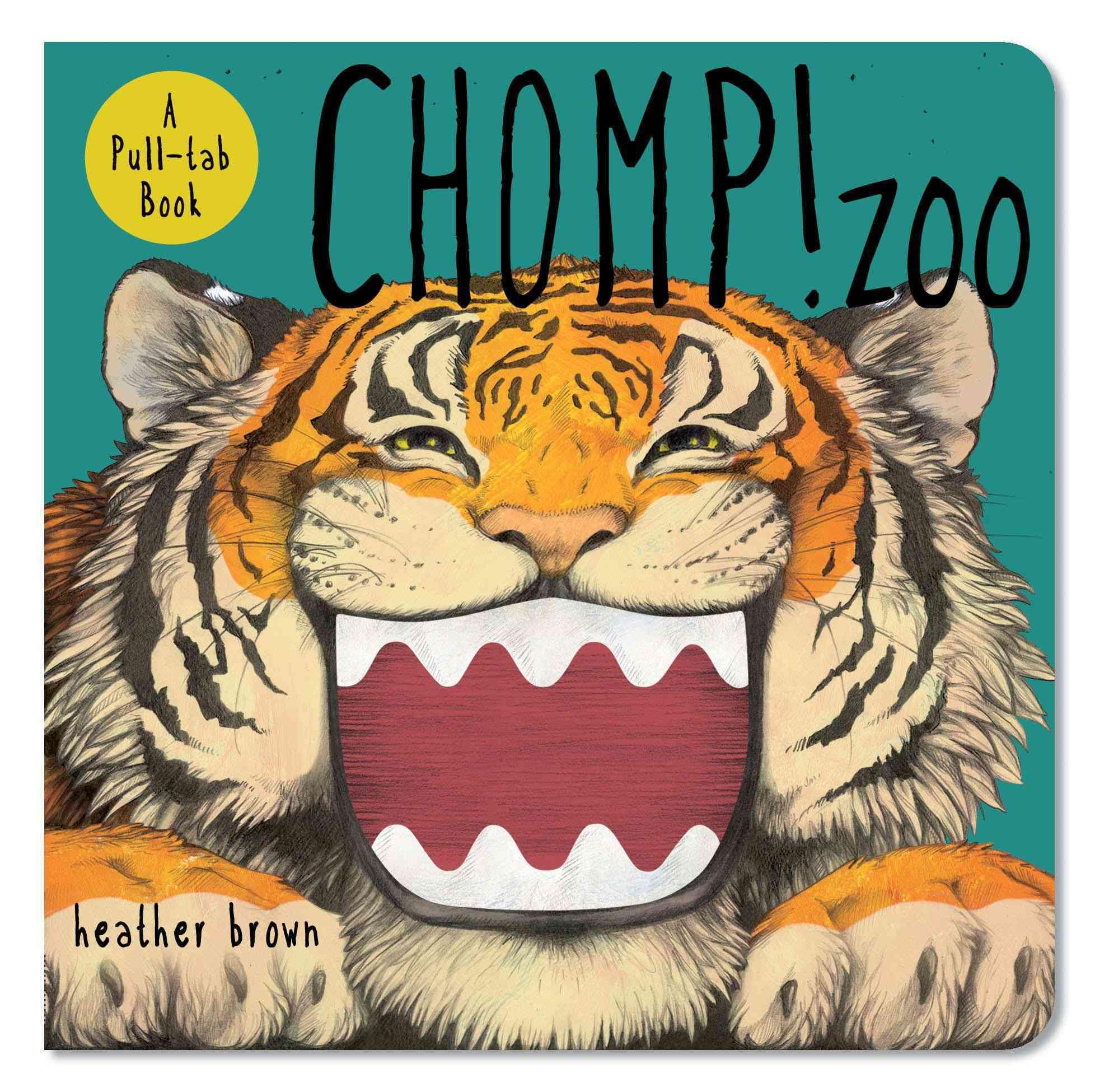 Chomp! Zoo: A Pull-Tab Book (Board book)