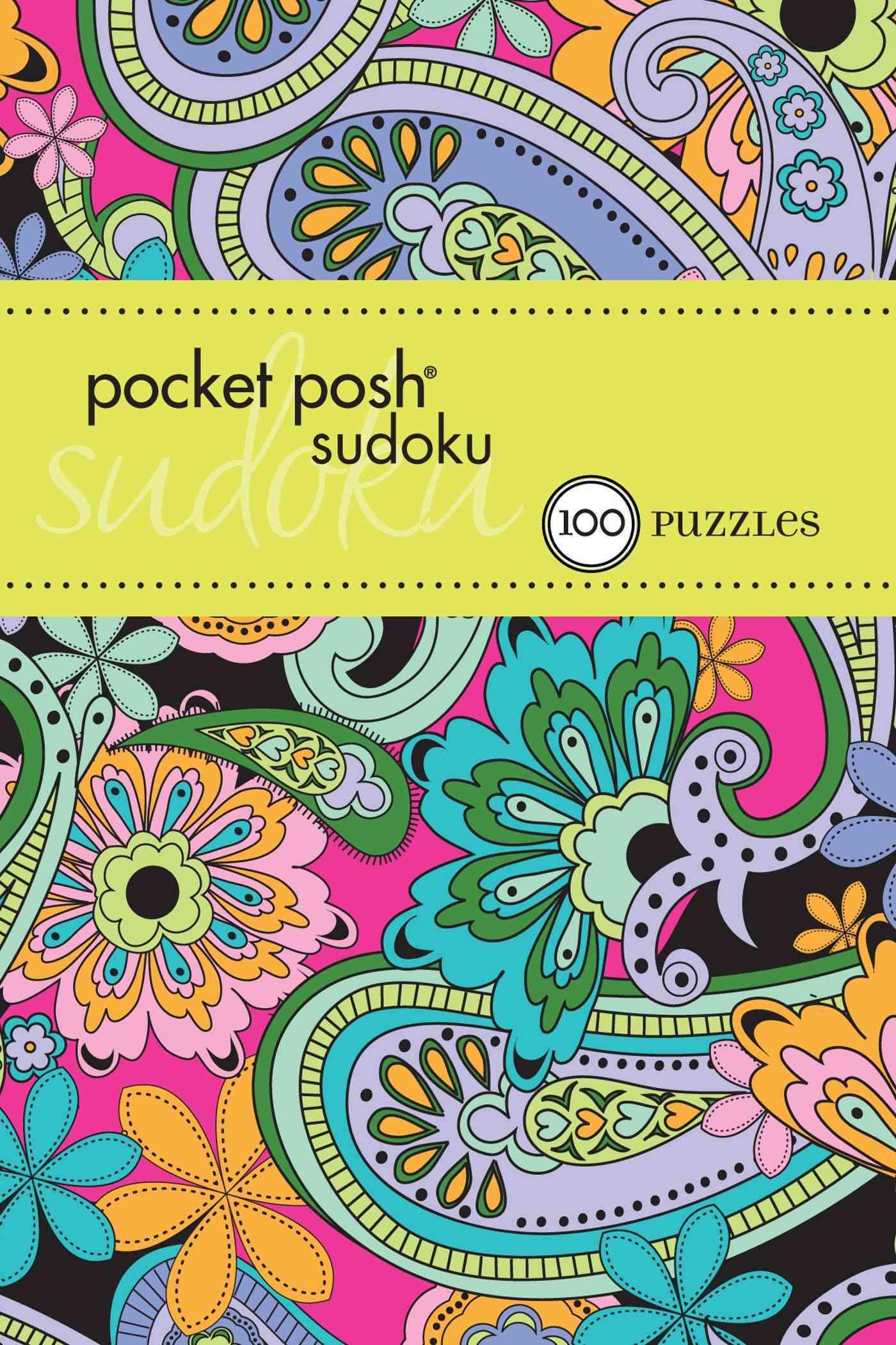 Pocket Posh Sudoku 19: 100 Puzzles (Paperback)