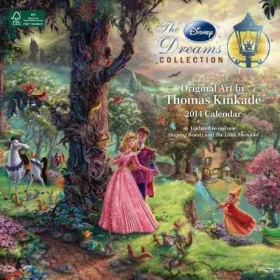 The Disney Dreams Collection 2014 Calendar (Calendar)