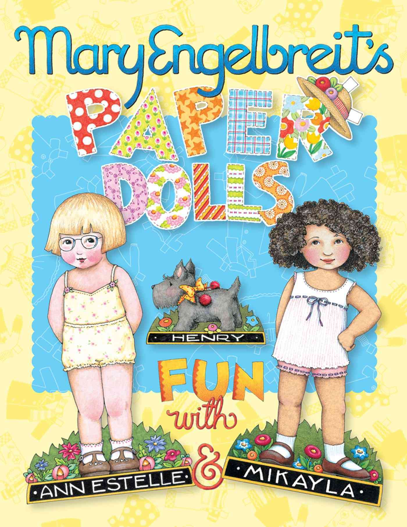 Mary Engelbreit's Paper Dolls: Fun With Ann Estelle and Mikayla (Paperback)