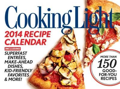 Cooking Light 2014 Recipe Calendar (Calendar)
