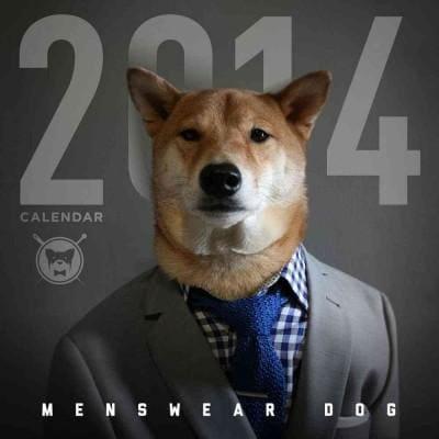 Menswear Dog 2014 Calendar (Calendar)