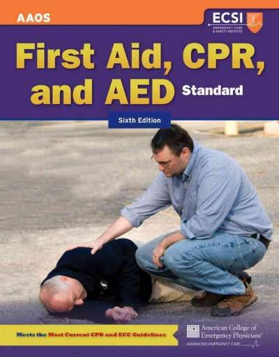 First Aid, CPR, and AED: Standard (Paperback)