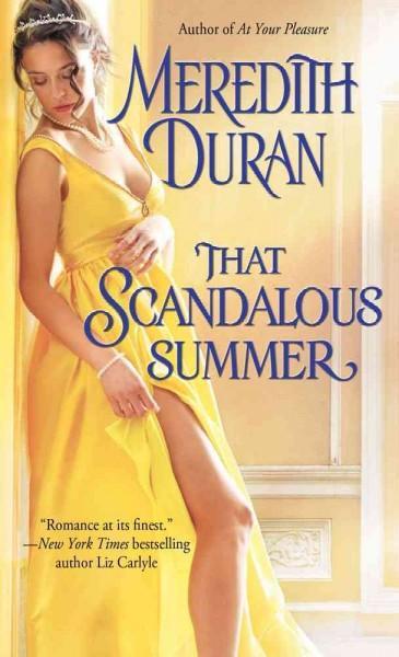 That Scandalous Summer (Paperback)