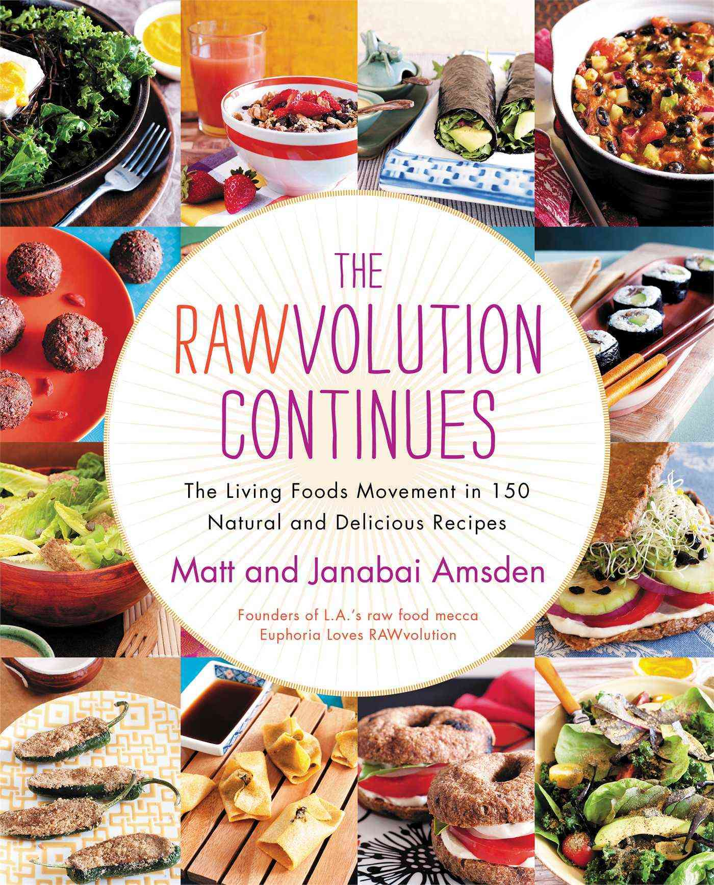 The Rawvolution Continues: The Living Foods Movement in 150 Natural and Delicious Recipes (Hardcover)